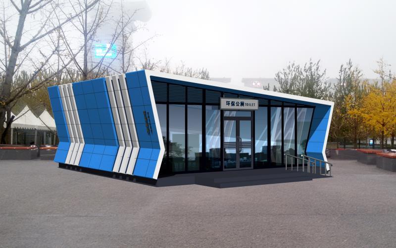 北京中国航天博物馆公厕案例