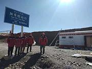 西藏海拔5198米的牵引式厕所项目